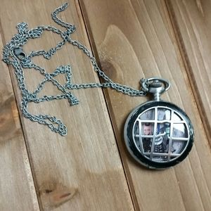 Lock, Shock, and Barrel Necklace